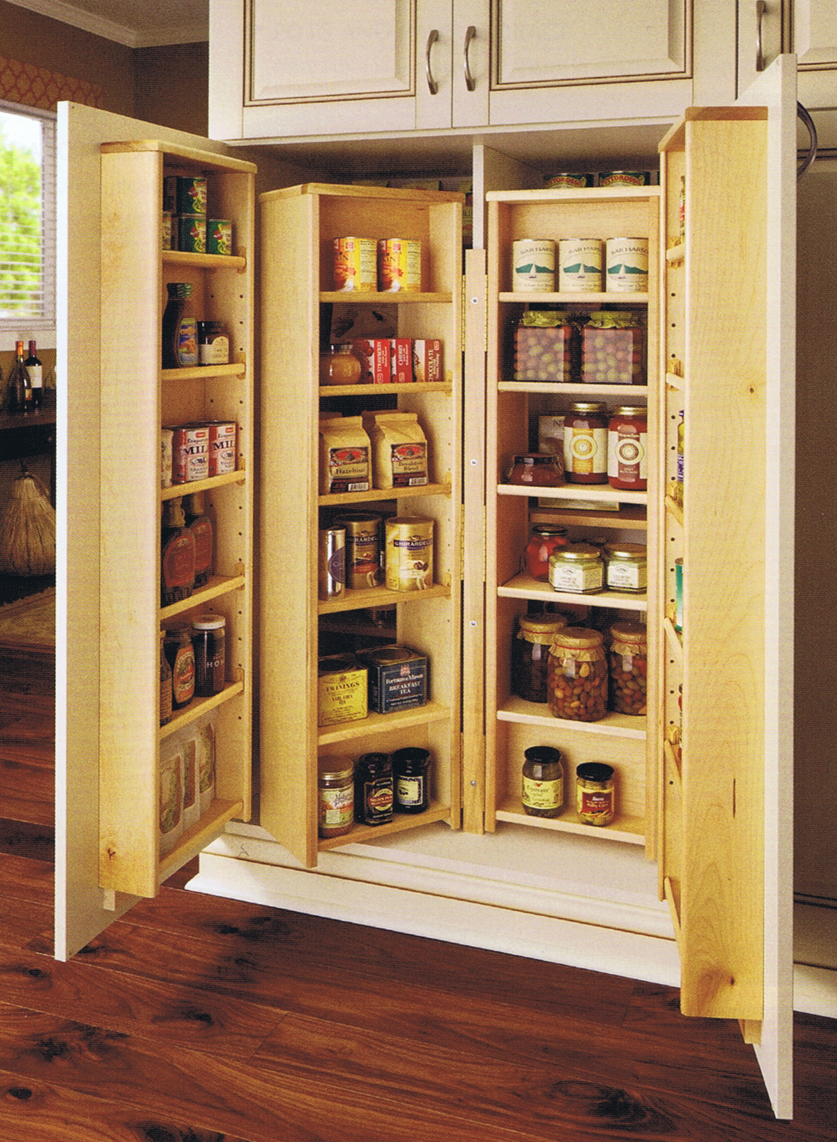 Woodwork kitchen pantry cabinet building plans pdf plans for Kitchen cabinet plans
